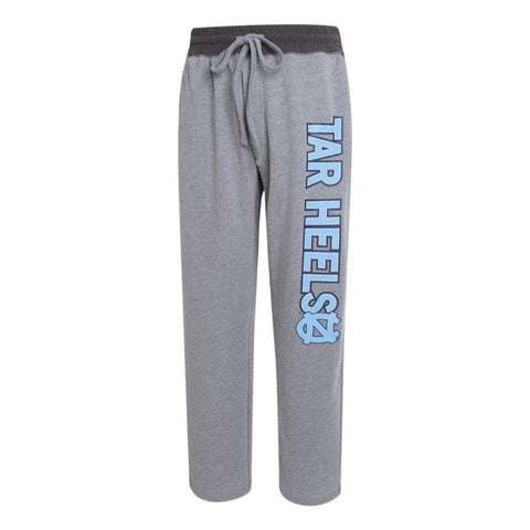 North Carolina Tar Heels Textured Sweatpants - Grey