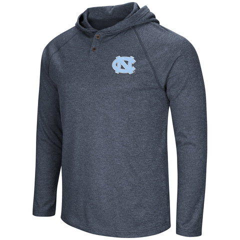 North Carolina Tar Heels Porsche Hooded Henley Long Sleeve