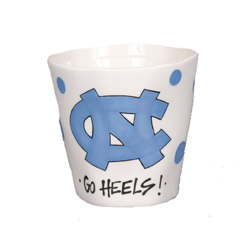 North Carolina Tar Heels Magnolia Lane Wobbly Mug