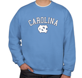 Carolina Blue UNC Crewneck Sweatshirt by Champion
