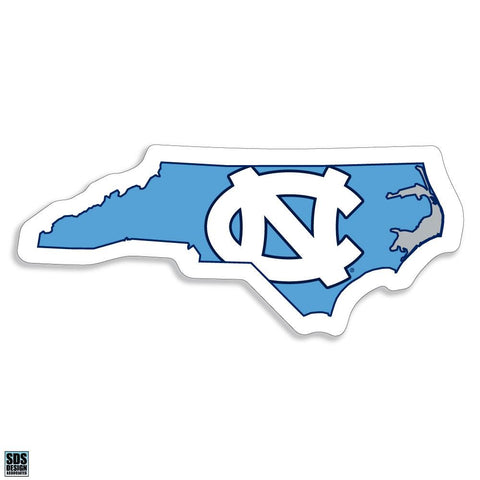 UNC Logo North Carolina State Decal Sticker 3""