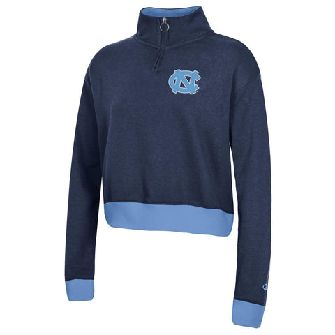 UNC Women's Cropped Jacket 1/4 Zip by Champion