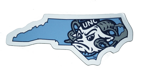Rameses North Carolina State Magnet 3 Inches