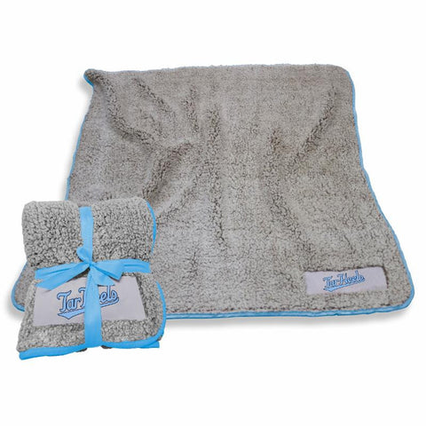 UNC Blanket in Grey Sherpa