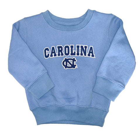 North Carolina Tar Heels Baby Toddler Crewneck Sweatshirt