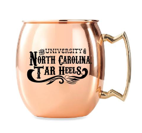 North Carolina Tar Heels Jardine Copper Moscow Mule Mug