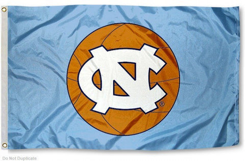 North Carolina Tar Heels Sewing Concepts UNC Carolina Basketball House Flag