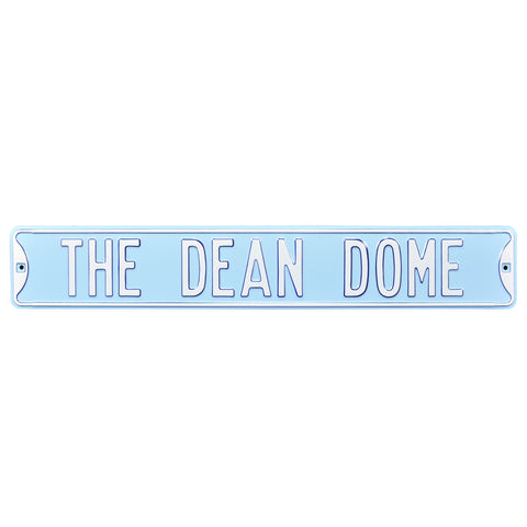 North Carolina Tar Heels Authentic Street Signs Dean Dome Sign