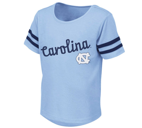 North Carolina Tar Heels Colosseum Toddler Girls Hamburg UNC Girls Tee