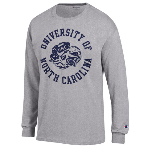 Vintage UNC Ram Long Sleeve T-Shirt