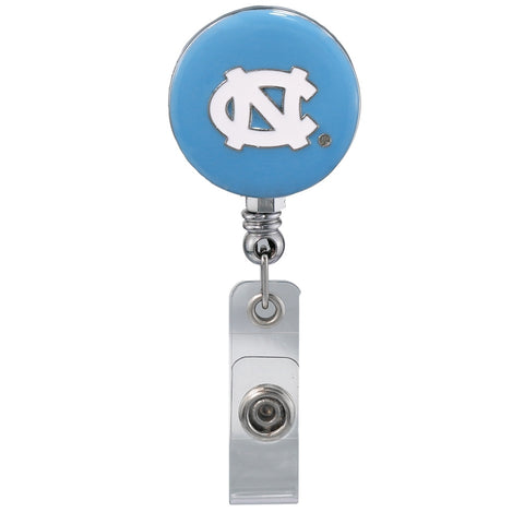 North Carolina Tar Heels Sandol Carolina Blue ID Lanyard Bade Reel