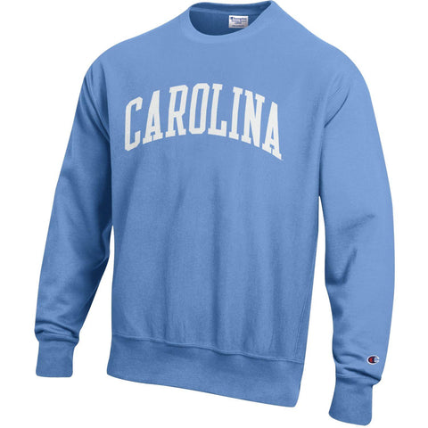 The Staple Crew - Champion Reverse Weave Light Blue Carolina Crewneck Sweatshirt
