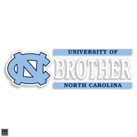 University of North Carolina Brother Decal