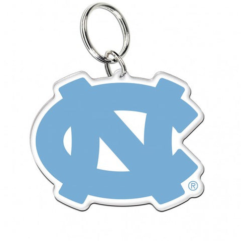 North Carolina Tar Heels Wincraft Premium Acrylic UNC Key Ring