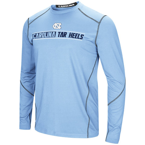 North Carolina Tar Heels Colosseum Bayous Long Sleeve - Carolina Blue - Front
