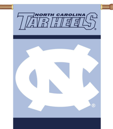 Two Sided Tar Heels Banner