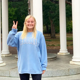 CAROLINA Tar Heels Corded Crewneck for Women