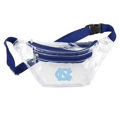 UNC Clear Fanny Pack - Stadium Approved