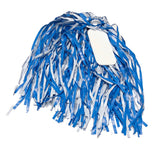 Carolina Blue and White Pom Pom with Paddle - Single