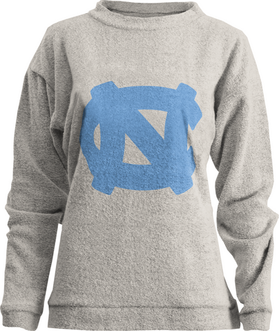 North Carolina Tar Heels Royce Comfy Terry Crewneck Sweatshirt