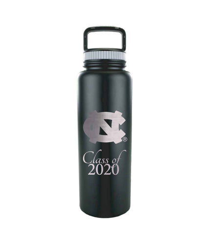 UNC Class of 2020 Growler Bottle Stainless Steel 32 Oz