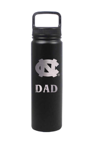 UNC Dad Water Bottle Stainless Steel 24 Oz