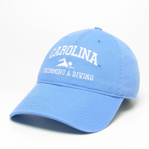Sport Program by Legacy - Carolina Blue UNC Swimming and Diving Hat