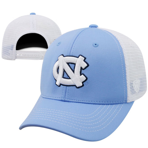 North Carolina Tar Heels Top of The World Ranger Two-Tone Hat - Carolina Blue