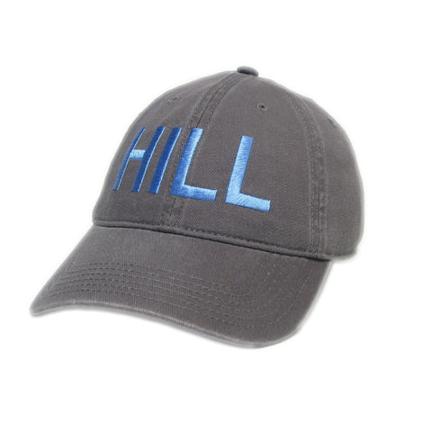 Chapel Hill Hat in Grey and Carolina Blue