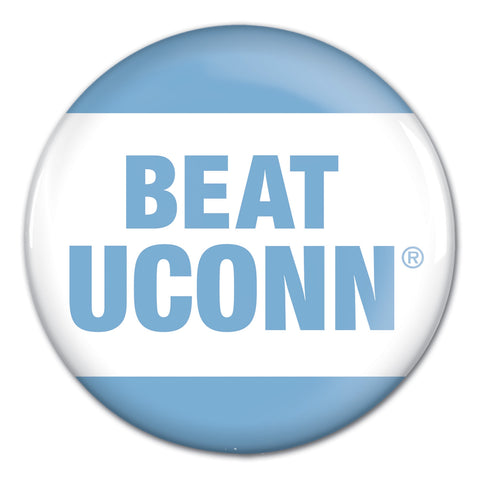 Beat U CONN Button
