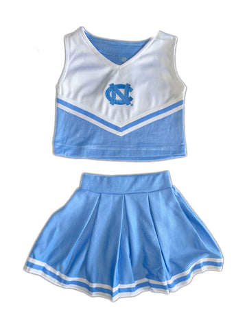 UNC Tar Heels Toddler Cheerleader Outfit