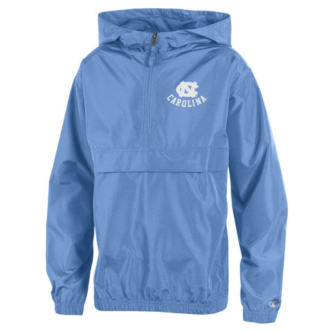 Carolina Blue Packable Champion UNC Kids Jacket