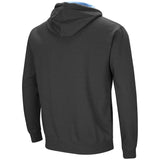 North Carolina Tar Heels Colosseum Playbook Pullover Hoodie - Charcoal - Back