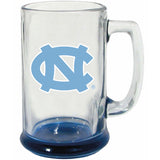 North Carolina Tar Heels The Memory Company 15 oz Decal Glass UNC Beer Stein