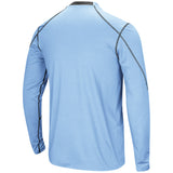 North Carolina Tar Heels Colosseum Bayous Long Sleeve - Carolina Blue - Back