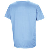 North Carolina Tar Heels Colosseum Youth Anytime! Anywhere! T-Shirt - Carolina Blue - Back