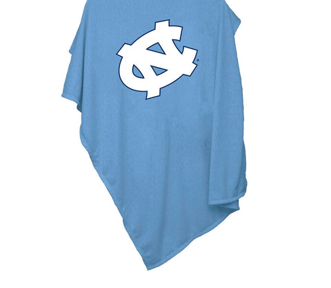 North Carolina Tar Heels Logo Brands UNC Sweatshirt Blanket