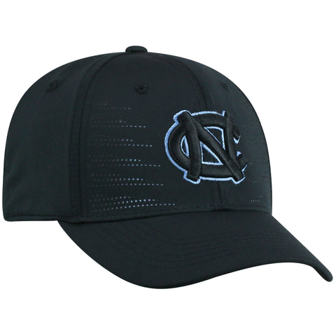 North Carolina Tar Heels Top of the World Black Dazed One Fit Youth Hat