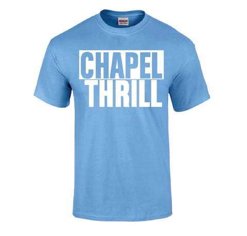 Chapel Thrill T-Shirt in Carolina Blue