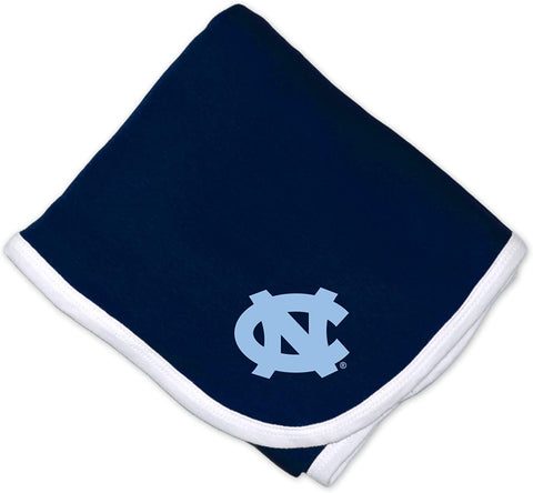 North Carolina Tar Heels Two Feet Ahead Baby Blanket