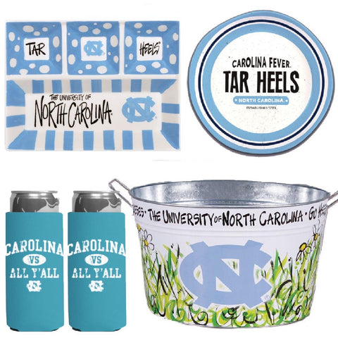 UNC Tar Heels Tailgate Party Value Pack