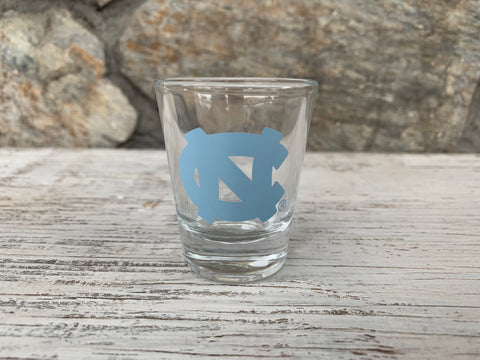 North  Carolina Tar Heels 1.5 Oz Clear Shot Glass