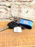 UNC Tar Heels Logo Embroidered Key Fob