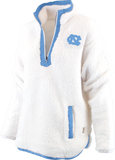 White Sherpa Carolina Tar Heels Womens Jacket