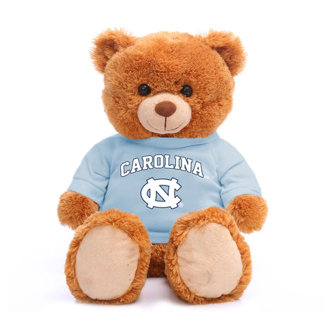 "North Carolina Tar Heels Jardine Plush Beige 24"" UNC Teddy Bear"