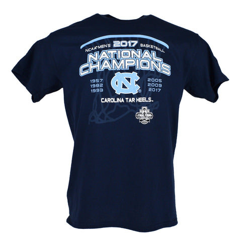 North Carolina Tar Heels 2017 National Championship To The Top T-Shirt