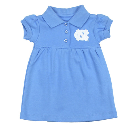 North Carolina Tar Heels Collar Dress & Bloomers - Carolina Blue
