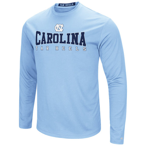 North Carolina Tar Heels Colosseum Adult Streamer Long Sleeve T-Shirt - Carolina Blue