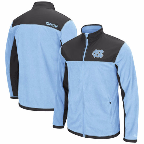 North Carolina Tar Heels Colosseum Blocker Polar Fleece Full-Zip Jacket - Carolina Blue