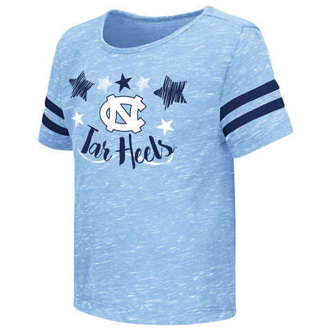 North Carolina Tar Heels Colosseum Janice Toddler T-Shirt  - Carolina Blue